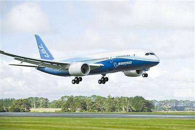 资料图:波音787客机.-波音拟在南卡罗来纳州787工厂裁员数百人