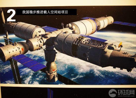 中国空间站想像图