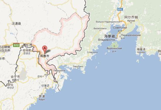 珲春市位于中朝俄三国边境地区