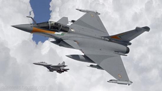 印度空军阵风战机宣传海报