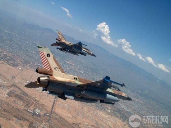 以色列装备的F-16战斗机