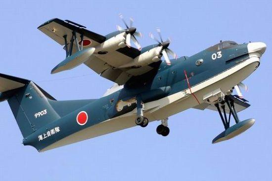 日本拟向印度出口水上飞机