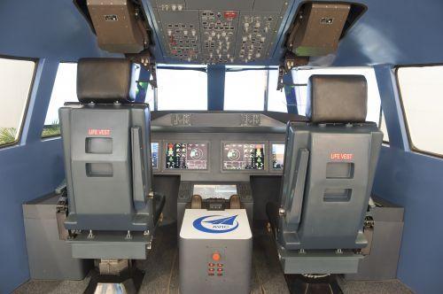 民用航空电子综合系统。(陈鹏摄)