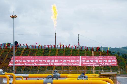 中缅天然气管道缓解马六甲困局