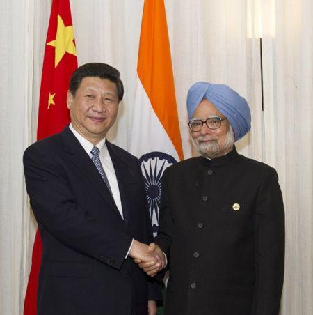 中印两国领导人会晤