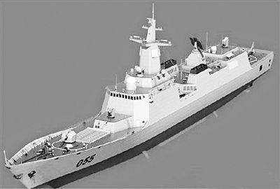 高性能护卫舰054B模型。