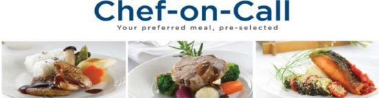 """马来西亚航空公司""""Chef-on-Call""""尊享点餐服务"""