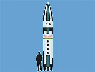 K-4潜射导弹