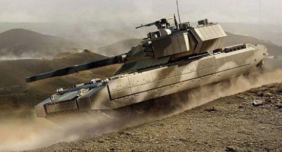 """俄新一代主战坦克――""""阿玛塔""""(Armata)未来的总产量将超过2200辆。"""