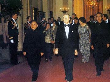美国总统卡特为欢迎邓小平访美举行国宴