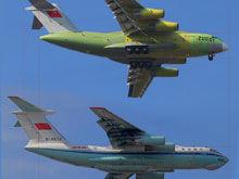 运-20同伊尔-76侧面对比