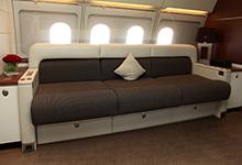 高清图:空客ACJ公务机亮相亚洲公务机展