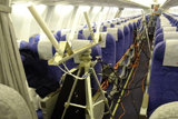 国航飞机客舱内布线