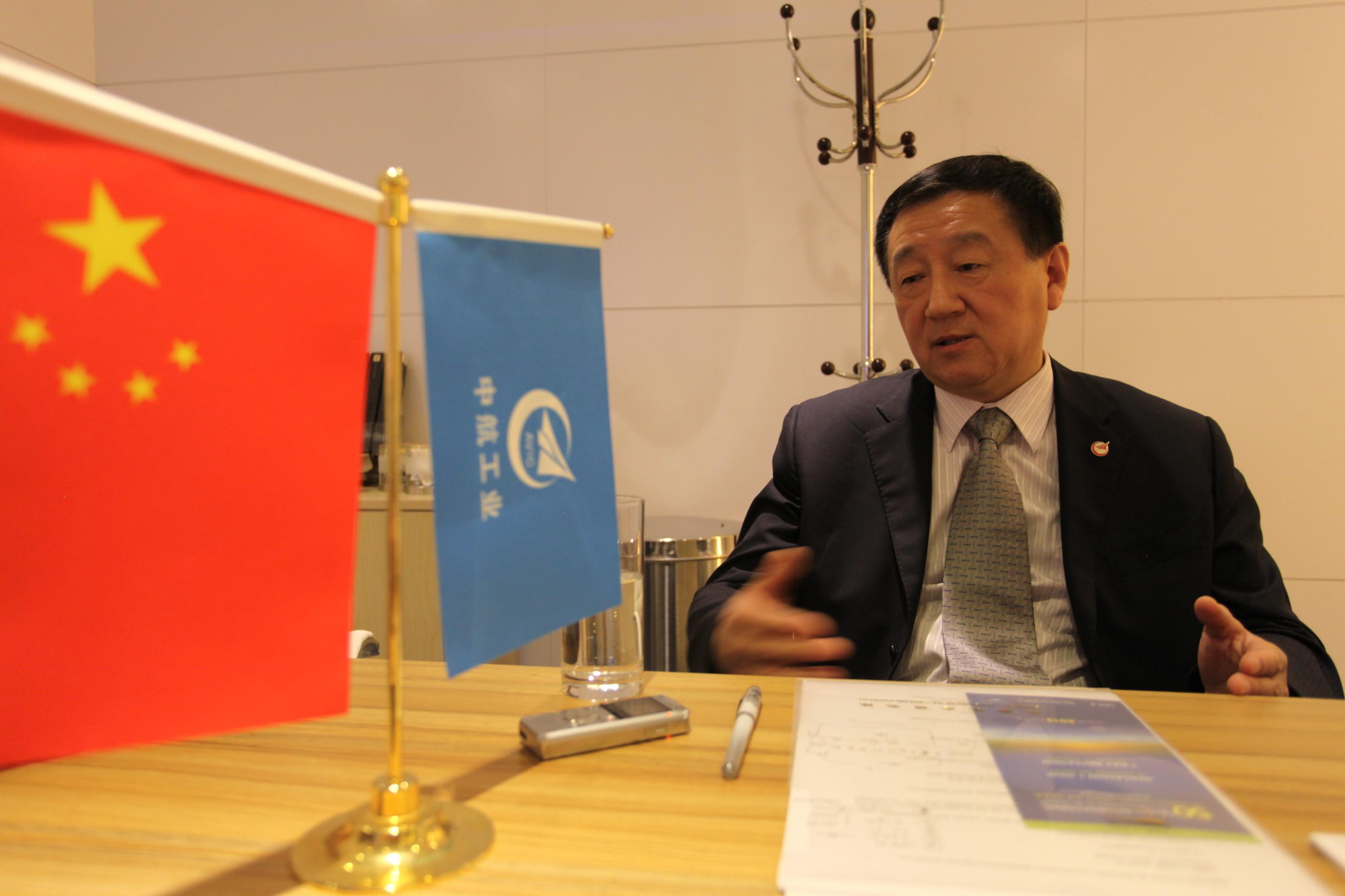 中国航空研究院副院长华俊