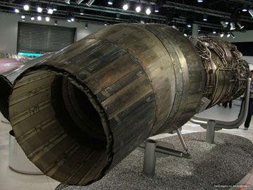 117S发动机喷口细节做工仍然不比西方产品