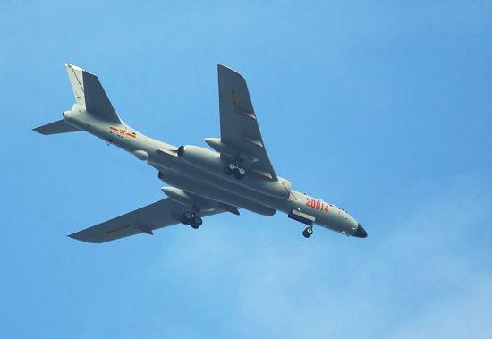 资料图:中国轰-6K轰炸机