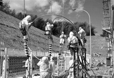 2011年3月,工作人员在福岛核电站附近土壤中发现钚元素。