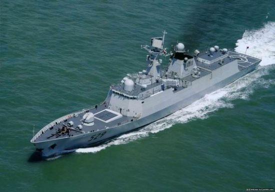 资料图:529舟山号导弹护卫舰