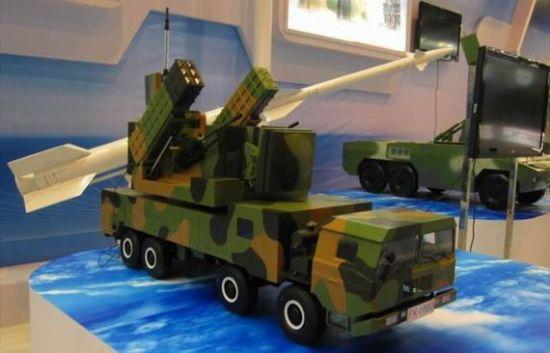 资料图:中国FK-2000防空系统