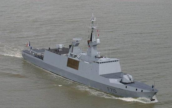 资料图:拉斐特级隐身护卫舰。