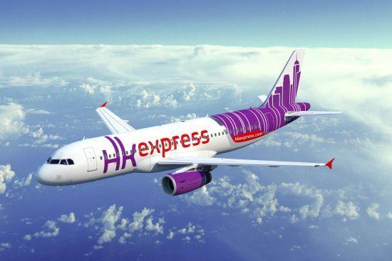 香港快运航空机身设计融入极具代表性的香港天际线图案,与品牌标志中