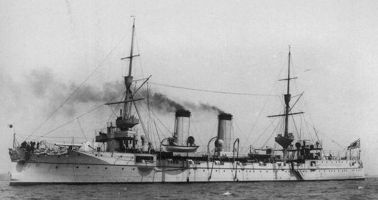 资料图:日本吉野号军舰