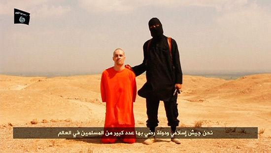 美国被害记者被杀前画面