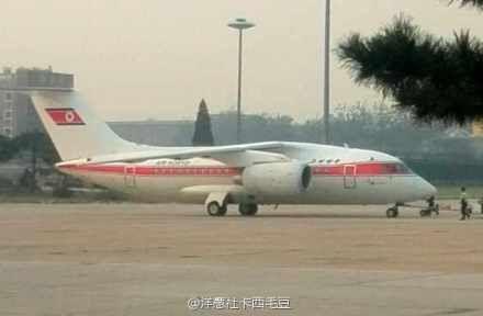 资料图:安-148降落北京