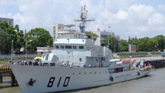 810号靖江舰(081型涡池级扫雷舰)