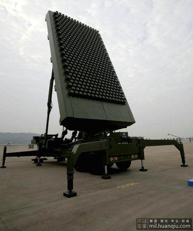 资料图:珠海航展上亮相的JY-26雷达。