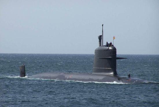 资料图:西班牙潜艇
