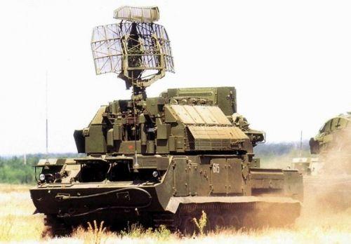 资料图:我国装备的TOR防空系统,注意它的搜索雷达天线与红旗-17的区别
