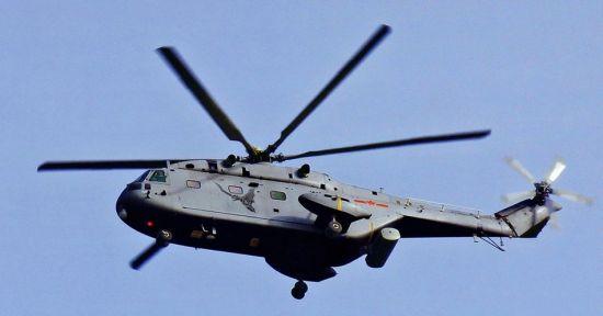 资料图:中国直-8预警直升机