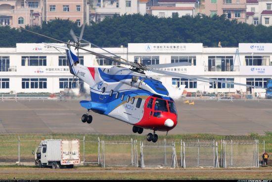 资料图:中国AC313直升机