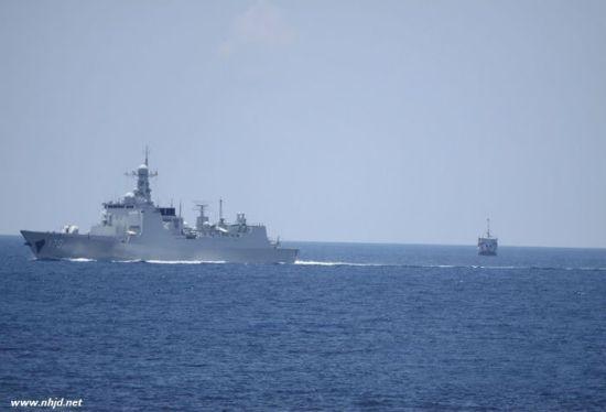 资料图:中国海军170舰在南海巡航