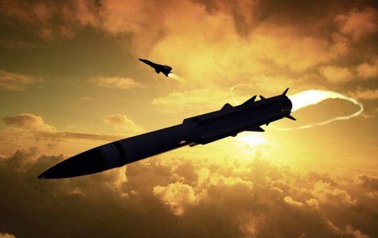 资料图:中国飞豹战机发射鹰击12反舰导弹想象图