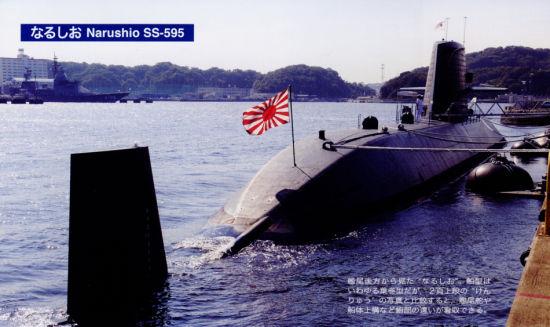 资料图:亲潮级鸣潮号常规潜艇