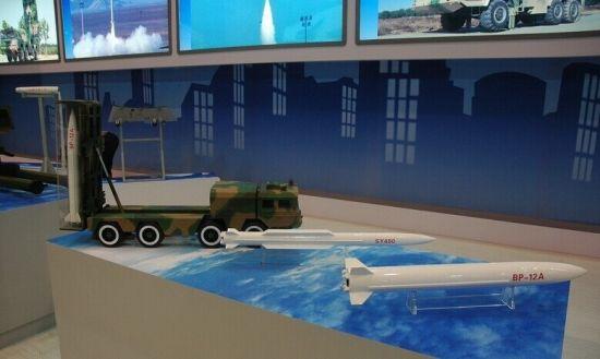 资料图:航天科工集团在珠海首次展出BP-12A武器系统