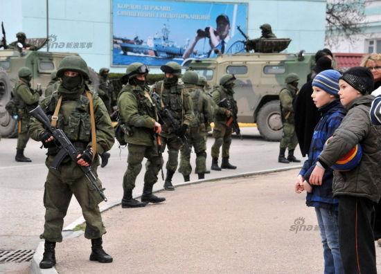 资料图:俄罗斯快速进占克里米亚,陆军改革成果非常有效!