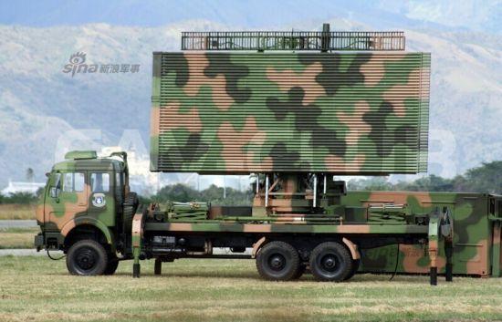 资料图:委内瑞拉某军事网站曝光了一组照片。照片中显示委内瑞拉军队已经开始装备JYL1对空警戒雷达。