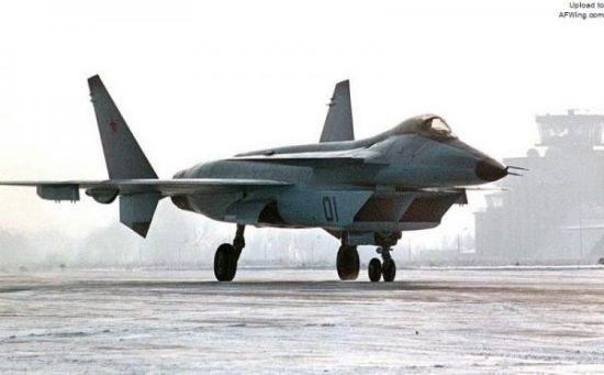 资料图:米格-1.42样机使用的发动机比117S性能更强