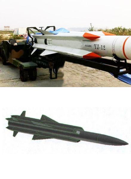 一些分析人士称,鹰击-12导弹的体现远比之前报道的小,说明其射程和飞行速度并没有之前估计的高,目前,比较合理的猜测是,鹰击-12导弹的最大射程在220千米左右,最大飞行速度为马赫数3左右。鹰击-12导弹在解放军的武器序列中,将主要作为空射型反舰导弹为主,与鹰击-9、鹰击