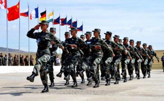 """中国军队参与""""可汗探索""""军演"""