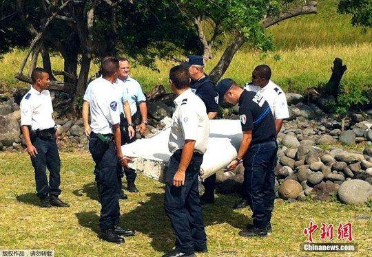 法国发现一片来源不明的飞机残骸