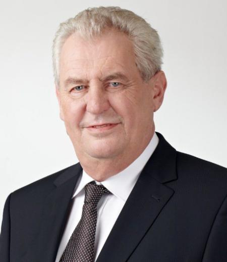 米洛什・泽曼(1944――)现任捷克总统
