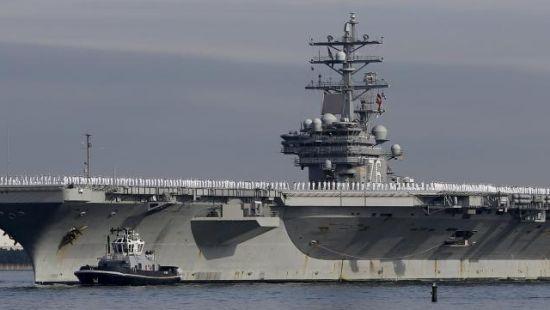 美军里根号航母