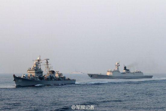 南海舰队对抗演练