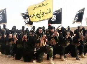资料图:伊斯兰国恐怖分子