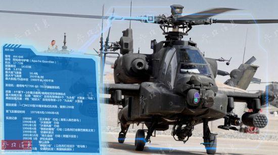 """AH-64""""阿帕奇""""直升�C"""