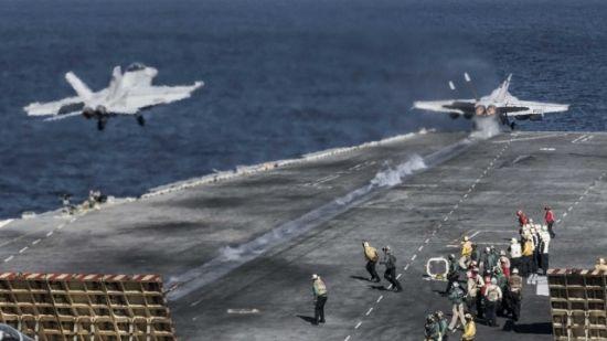 资料图:美军航母